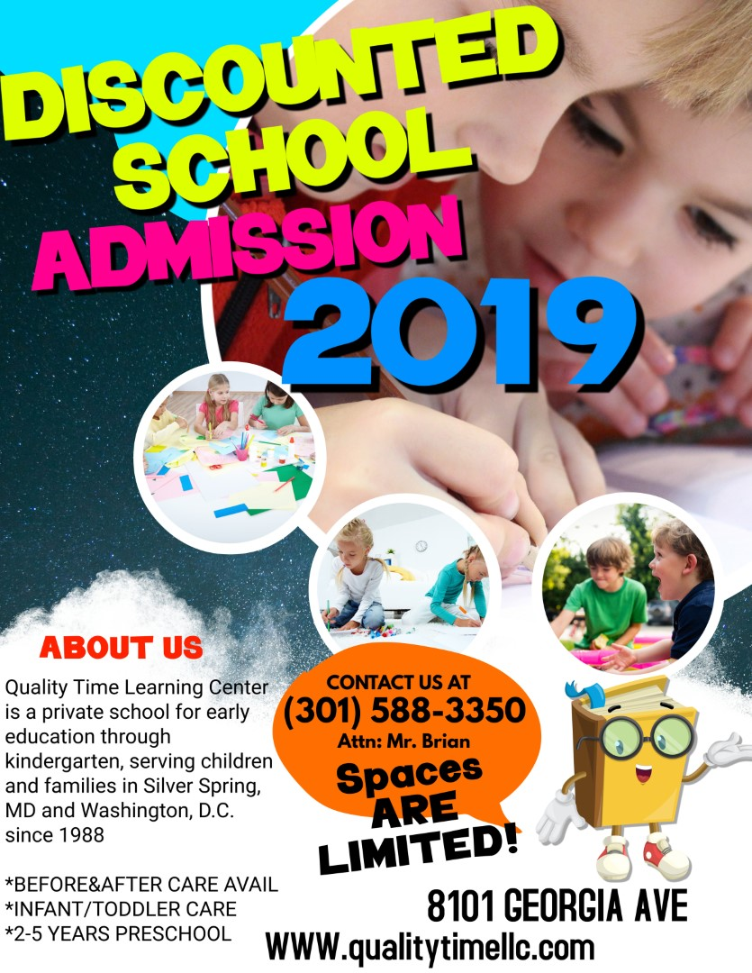 Admissions - Quality Time Learning Center